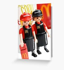 McDonalds Greeting Card