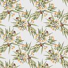 Eucalyptus Peach, Grey and Dusty Green by ThistleandFox