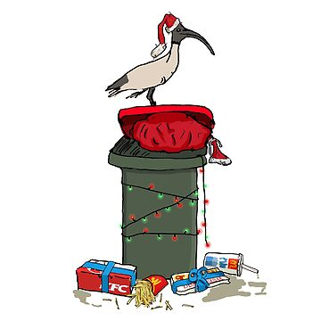 Xmas Bin Chicken by strayastickers