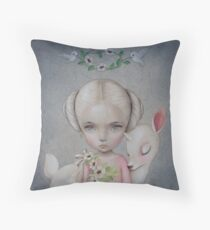 Spirit of the Forest by Raul Guerra Throw Pillow