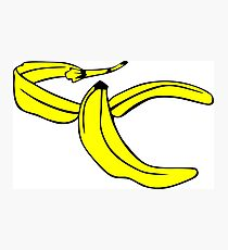Banana Peel Photographic Print