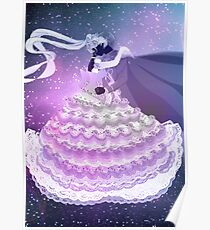 Sailor Moon and Tuxedo Mask Poster