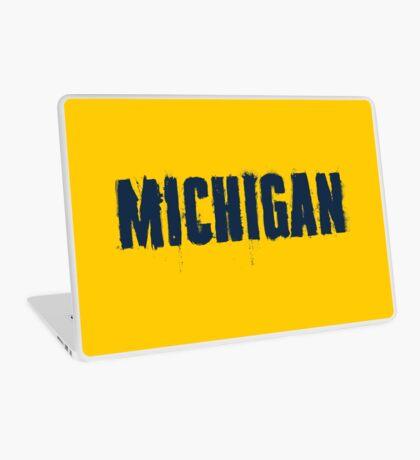 Michigan Trash Letters Laptop Skin