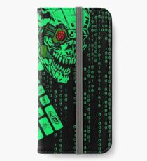 Computer Code Monster Hacker Gamer Coder iPhone Wallet/Case/Skin