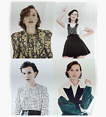 Millie Bobby Brown Collage Poster