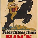 Germany Beer Boch Vintage Travel Advertisement Art Poster by jnniepce