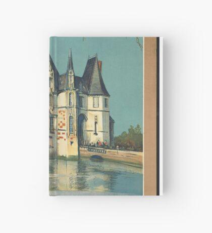 Normandy France Vintage Travel Advertisement Art Poster Hardcover Journal
