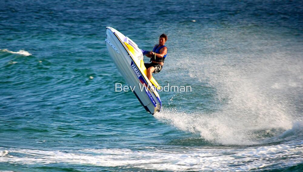 Jet Ski Fun - Swansea Channel NSW by Bev Woodman