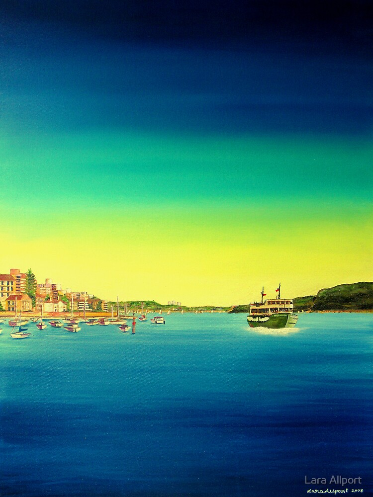 Manly ferry by Lara Allport