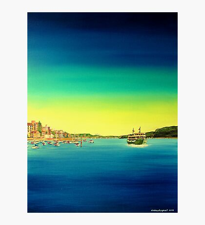 Manly ferry Photographic Print