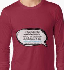 Simon Vs. Quote Ocean Long Sleeve T-Shirt