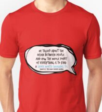 Simon Vs. Quote Ocean Unisex T-Shirt