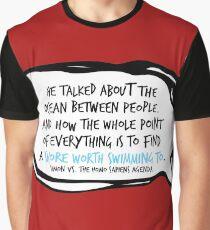 Simon Vs. Quote Ocean Graphic T-Shirt