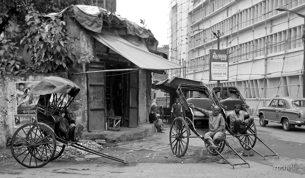 Kolkata, West Bengal India by rochelle