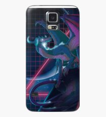 Funda/vinilo para Samsung Galaxy Neon Dragon