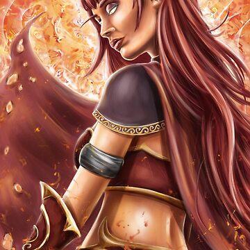 Alexstrasza , Warcraft Fanart by MoonpixStudios