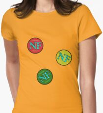 Red Yellow Green - NF HIPHOP Women's Fitted T-Shirt