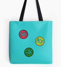 Red Yellow Green - NF HIPHOP Tote Bag