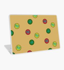 Red Yellow Green - NF HIPHOP Laptop Skin