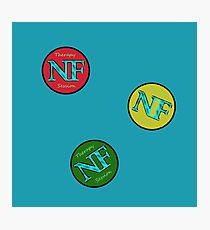 Red Yellow Green - NF HIPHOP Photographic Print