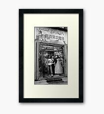 Urumqi bridal store Framed Print