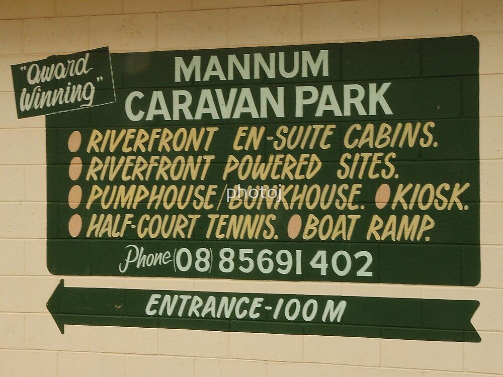 photoj S.A. Mannum Caravan Park by photoj
