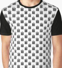 Salt Lake City Tempel (schwarz) - LDStreetwear Grafik T-Shirt