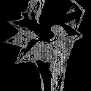 -FINAL FANTASY- Final Fantasy IX B & W Logo by WubbaDubb