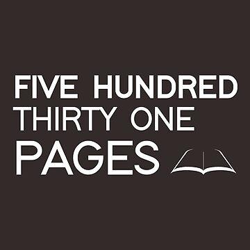 531 PAGES (white) - LDStreetwear by LDStreetwear