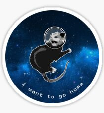I Want to Go Home Sticker