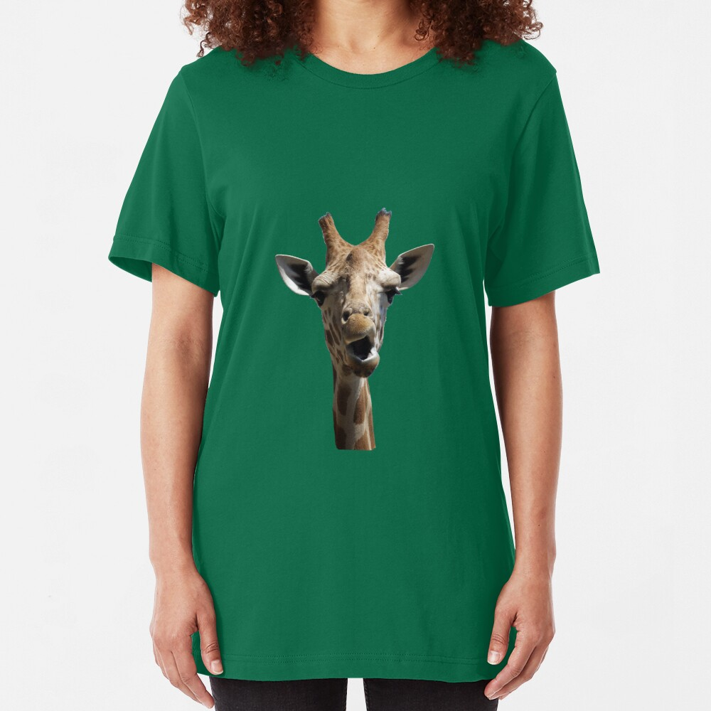 Giraffe Hey    TEE Slim Fit T-Shirt