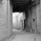 Old town alley in Kashgar by culturequest
