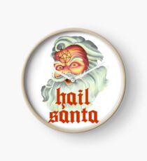 Hail Santa Clock