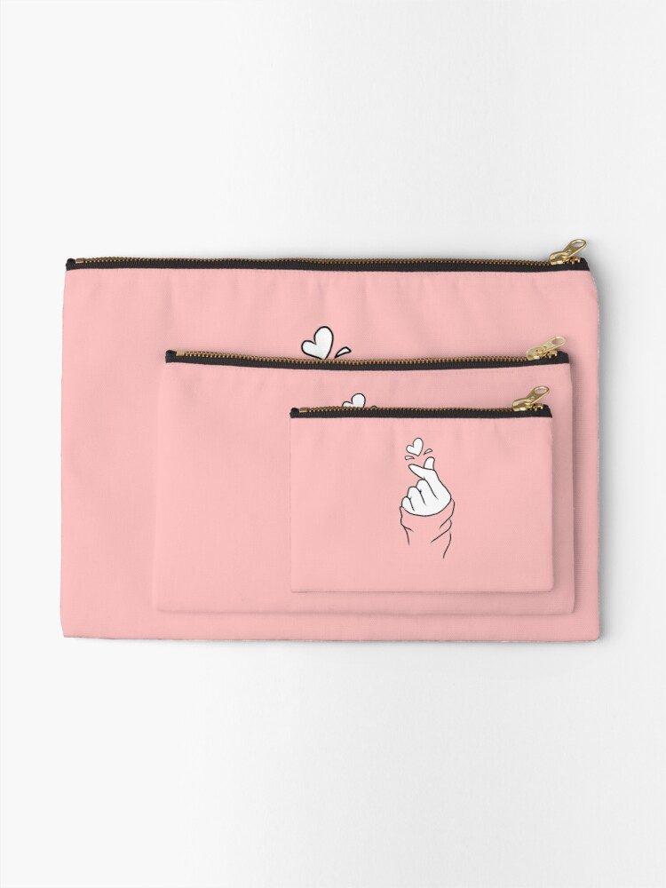 Alternate view of Cute Heart~  Zipper Pouch