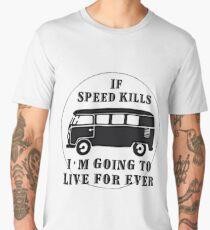 Speed kills Men's Premium T-Shirt