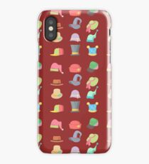 Headwear Collection Hats Set. iPhone Case/Skin