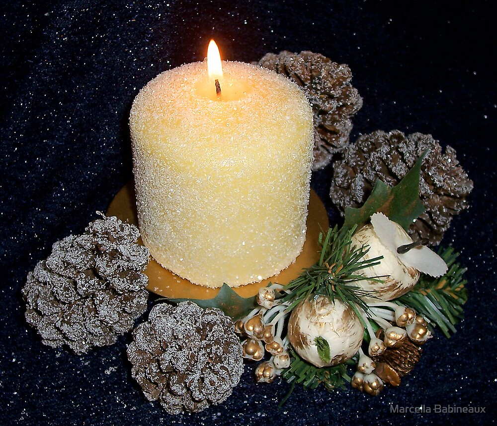 Candle Light by Marcella Babineaux