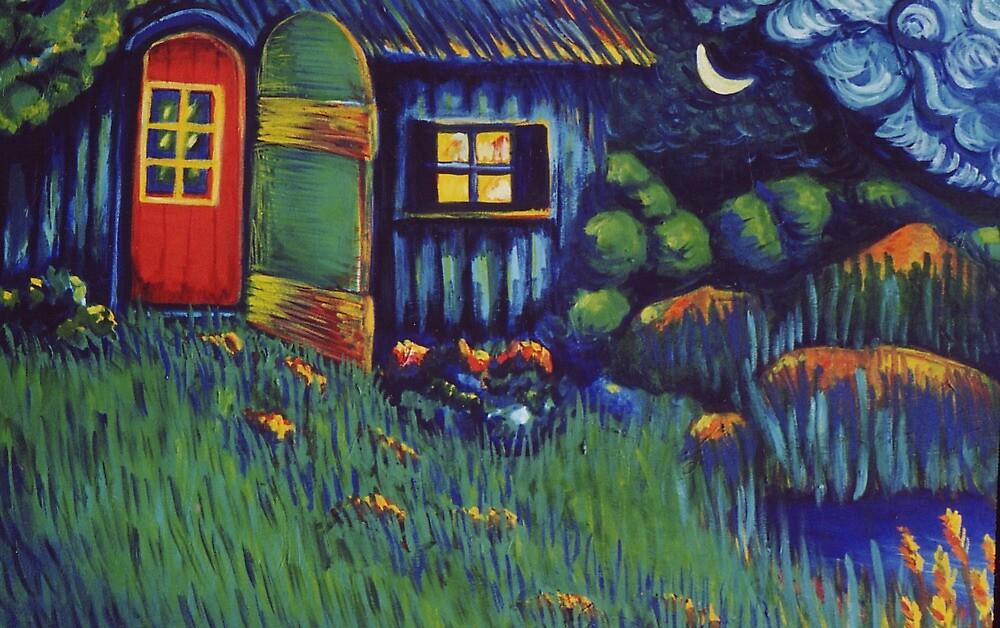 Enchanted Hut by Jill Mattson