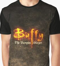 Bufffy The Vampire Slayer Graphic T-Shirt