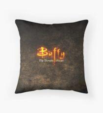 Bufffy The Vampire Slayer Floor Pillow