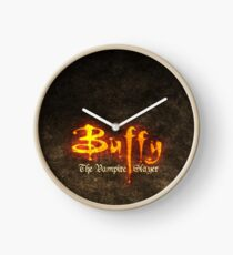 Bufffy The Vampire Slayer Clock