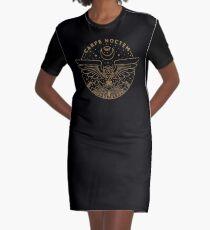 Carpe Noctem Graphic T-Shirt Dress