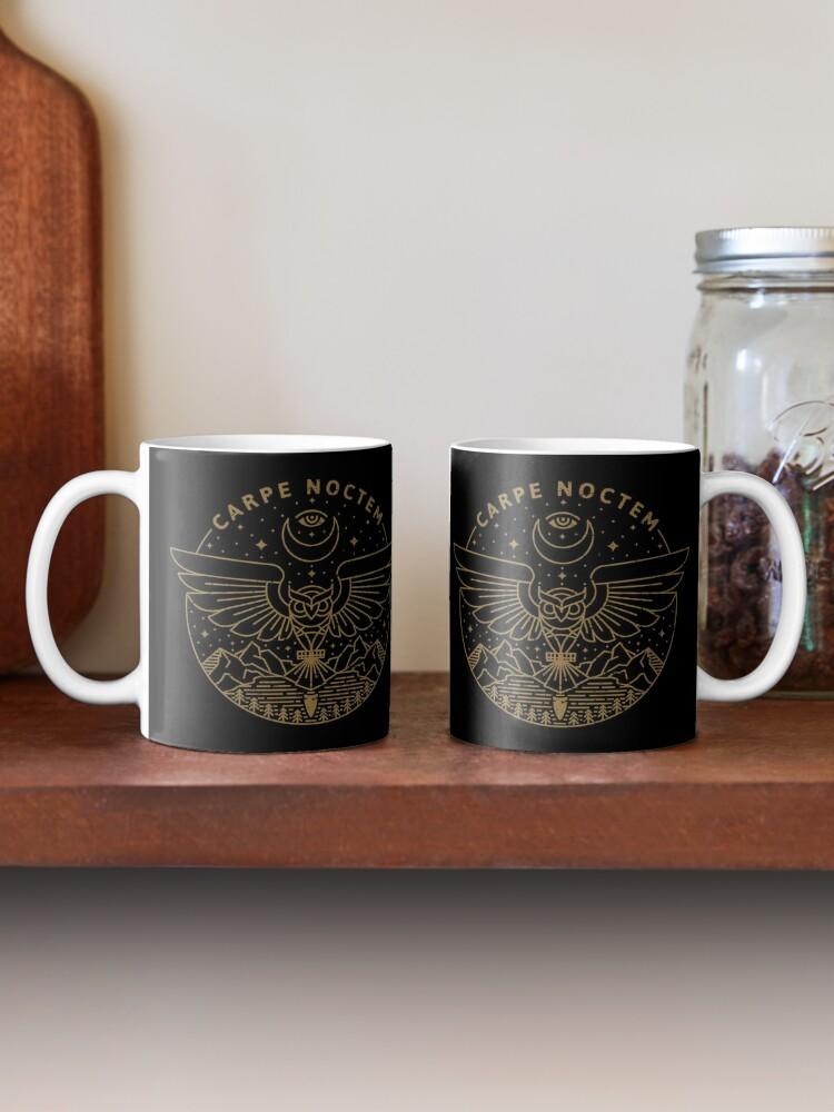 Alternate view of Carpe Noctem Mug