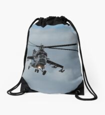Mi-24 'Hind' Helicopter Gunship (II) Drawstring Bag