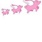 Flying Pigs by Natalie Perkins