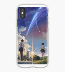Kimi no na wa poster high quality iPhone Case