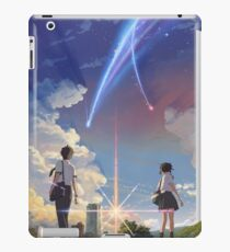 Kimi no na wa poster high quality iPad Case/Skin