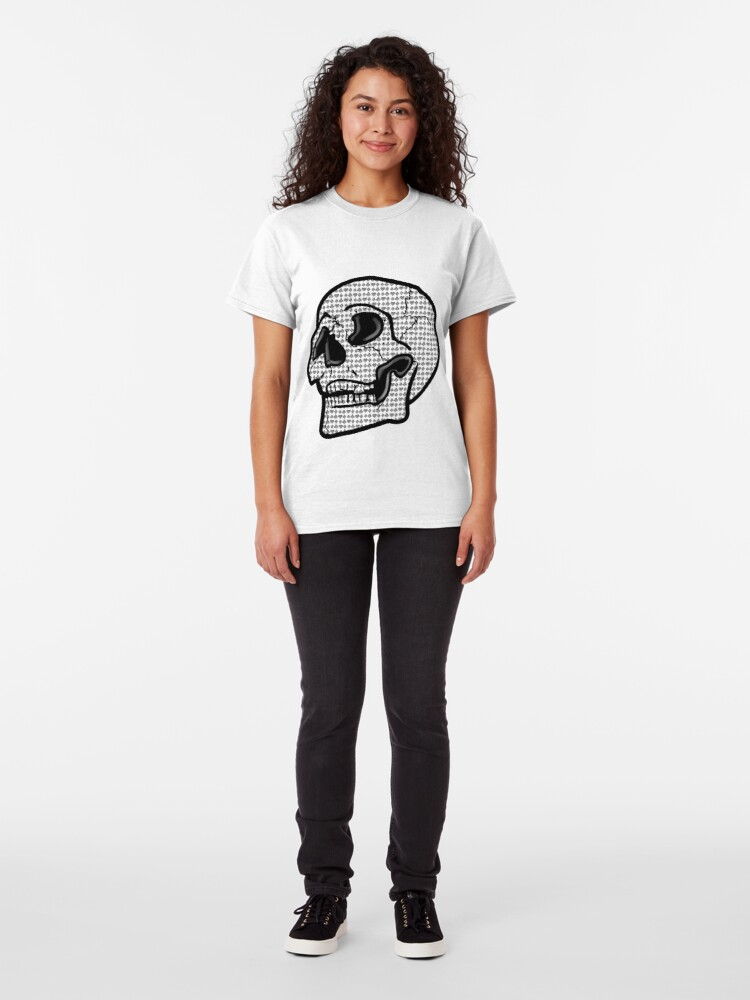 Alternate view of Poker Skull Classic T-Shirt
