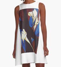 Lily Cross A-Line Dress