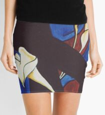 Lily Cross Mini Skirt